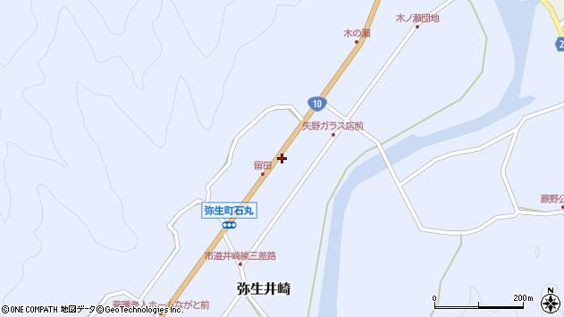 大分県佐伯市弥生大字井崎1700周辺の地図