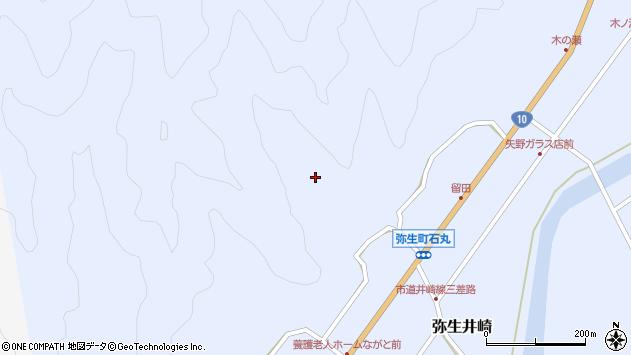 大分県佐伯市弥生大字井崎2170周辺の地図