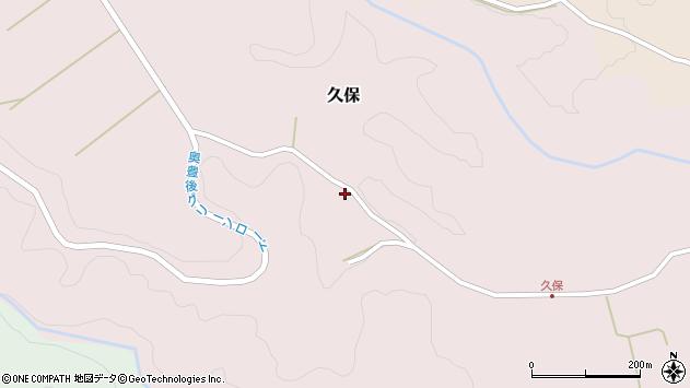 大分県竹田市久保992周辺の地図