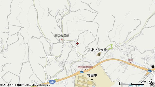 大分県竹田市会々3891周辺の地図