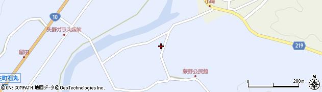 大分県佐伯市弥生大字井崎277周辺の地図