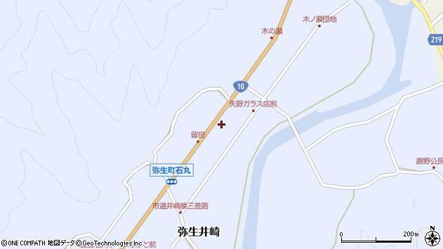 大分県佐伯市弥生大字井崎1701周辺の地図