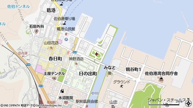 大分県佐伯市葛港1周辺の地図