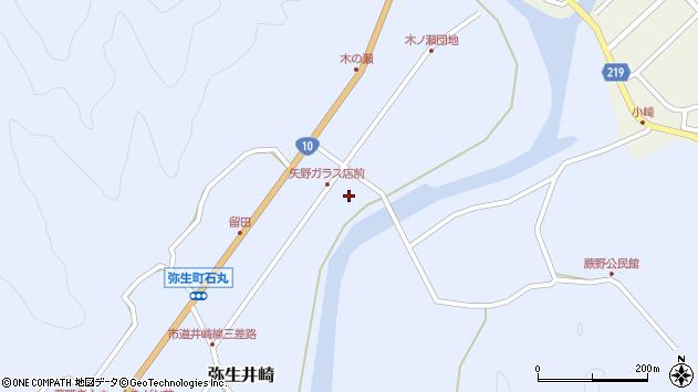 大分県佐伯市弥生大字井崎1677周辺の地図