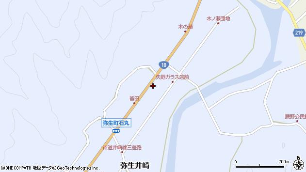 大分県佐伯市弥生大字井崎1699周辺の地図