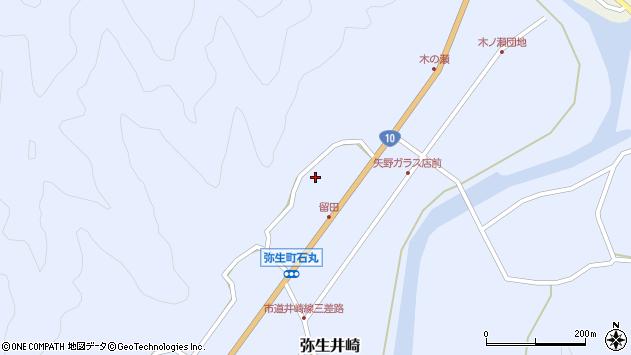大分県佐伯市弥生大字井崎1574周辺の地図