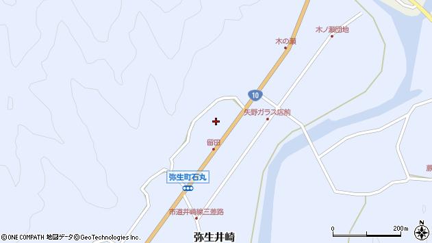 大分県佐伯市弥生大字井崎1564周辺の地図