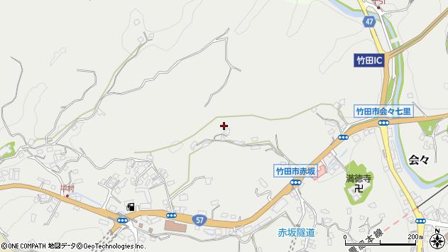 大分県竹田市会々2940周辺の地図