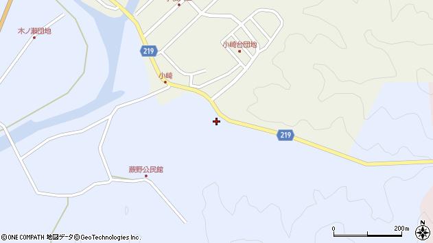 大分県佐伯市弥生大字井崎247周辺の地図