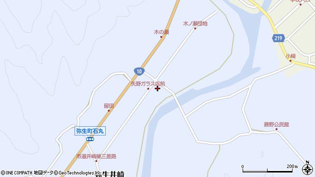 大分県佐伯市弥生大字井崎1678周辺の地図