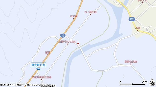 大分県佐伯市弥生大字井崎1655周辺の地図