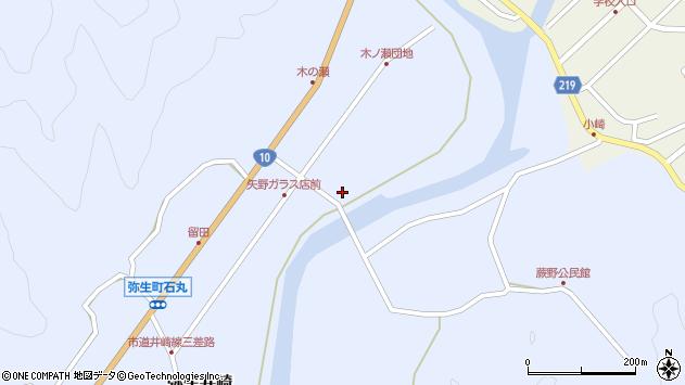 大分県佐伯市弥生大字井崎1658周辺の地図