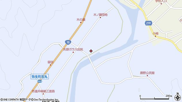 大分県佐伯市弥生大字井崎1661周辺の地図