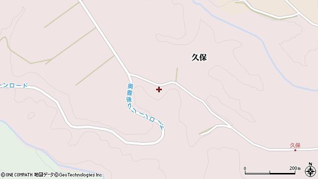 大分県竹田市久保964周辺の地図