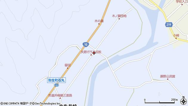 大分県佐伯市弥生大字井崎1685周辺の地図