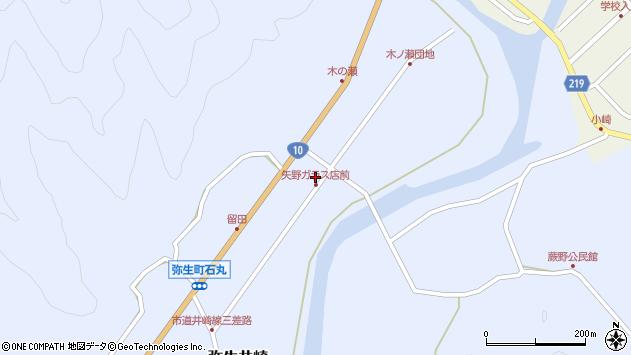 大分県佐伯市弥生大字井崎1689周辺の地図