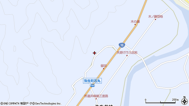 大分県佐伯市弥生大字井崎2028周辺の地図
