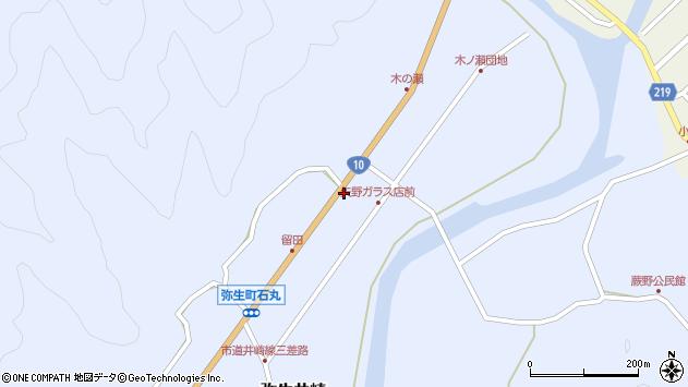 大分県佐伯市弥生大字井崎1575周辺の地図