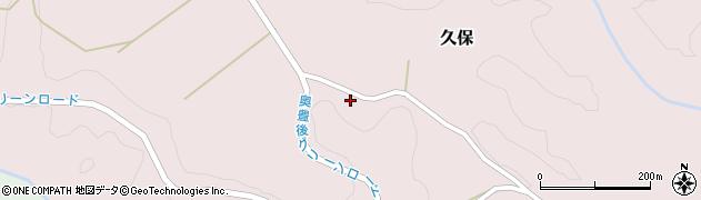 大分県竹田市久保981周辺の地図