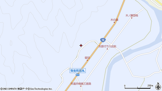 大分県佐伯市弥生大字井崎2025周辺の地図