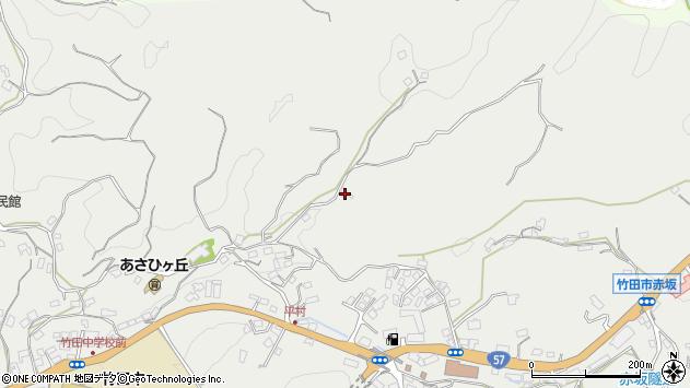 大分県竹田市会々2860周辺の地図