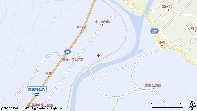 大分県佐伯市弥生大字井崎1606周辺の地図
