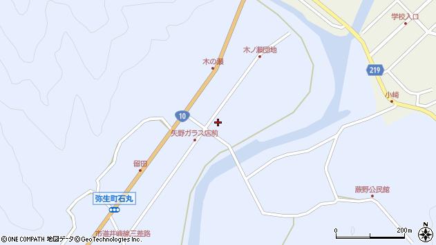 大分県佐伯市弥生大字井崎1648周辺の地図