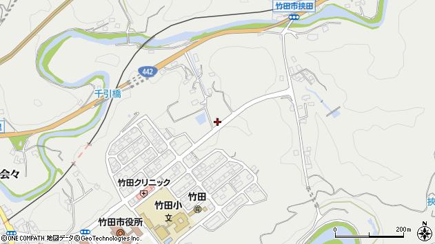 大分県竹田市会々1877周辺の地図