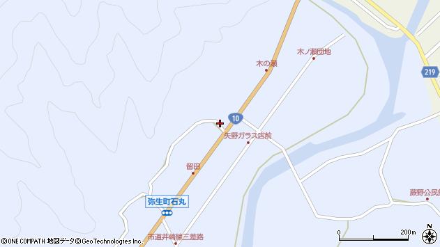 大分県佐伯市弥生大字井崎2013周辺の地図