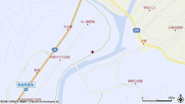 大分県佐伯市弥生大字井崎1596周辺の地図