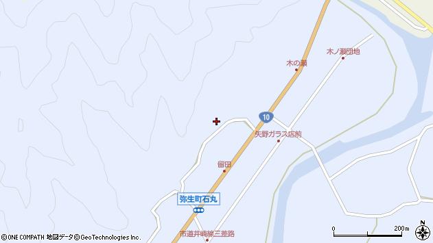 大分県佐伯市弥生大字井崎2023周辺の地図
