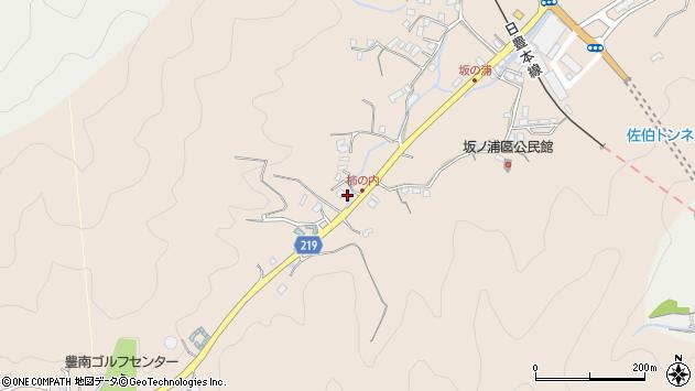 大分県佐伯市鶴望4373周辺の地図