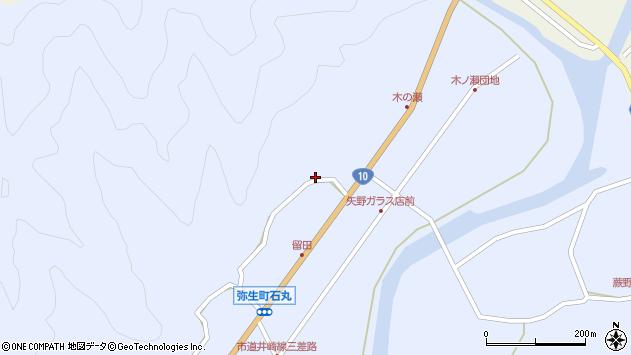 大分県佐伯市弥生大字井崎2015周辺の地図