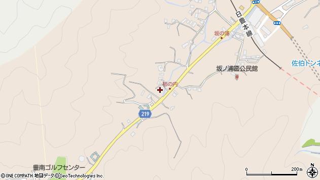 大分県佐伯市鶴望4372周辺の地図