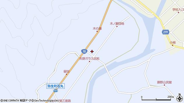 大分県佐伯市弥生大字井崎1941周辺の地図