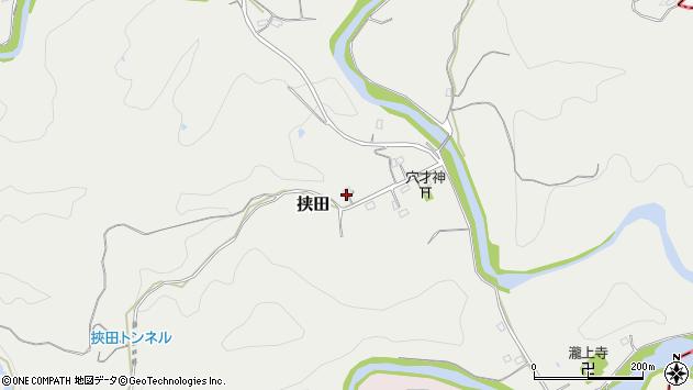 大分県竹田市挟田410周辺の地図
