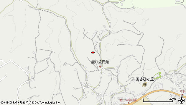大分県竹田市会々4249周辺の地図