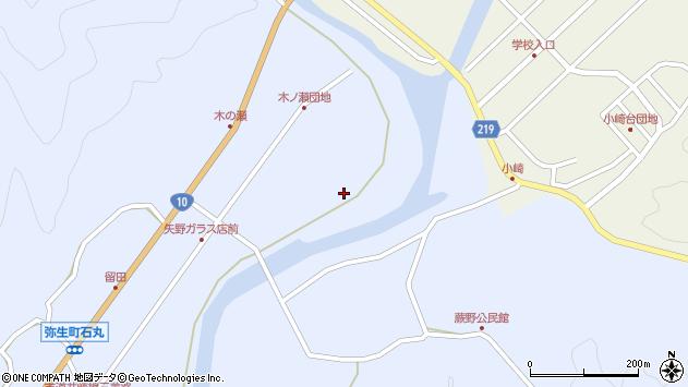 大分県佐伯市弥生大字井崎1595周辺の地図