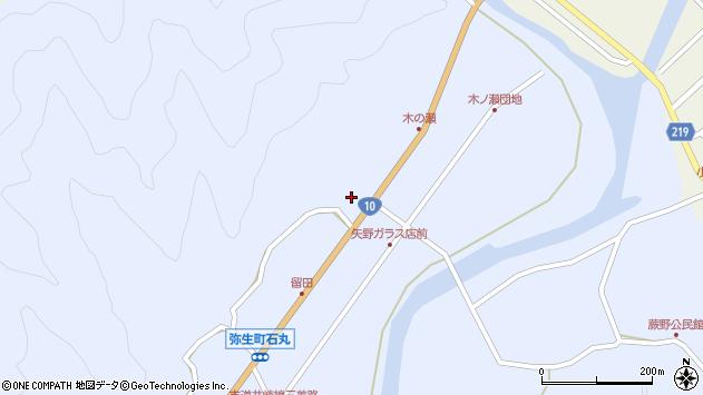 大分県佐伯市弥生大字井崎2008周辺の地図
