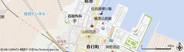 大分県佐伯市葛港4周辺の地図