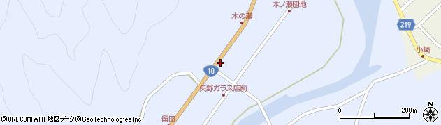 大分県佐伯市弥生大字井崎1633周辺の地図