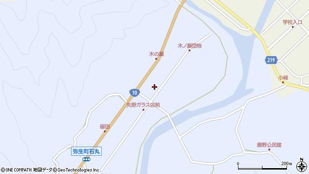 大分県佐伯市弥生大字井崎1643周辺の地図