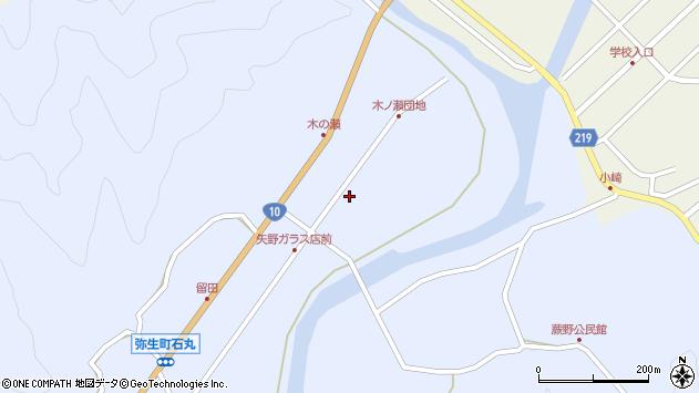 大分県佐伯市弥生大字井崎1618周辺の地図