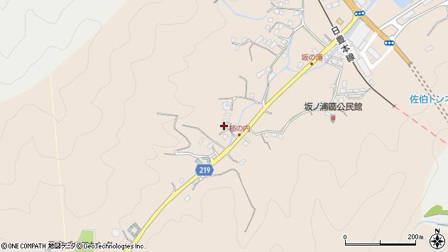 大分県佐伯市鶴望4376周辺の地図