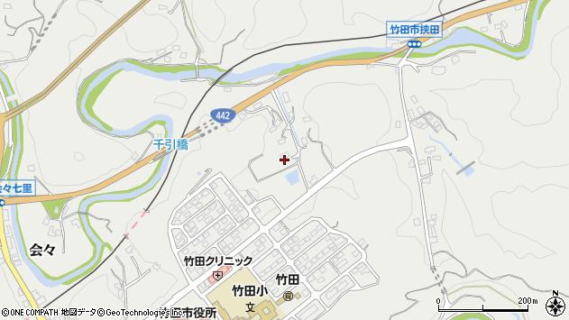 大分県竹田市会々1789周辺の地図