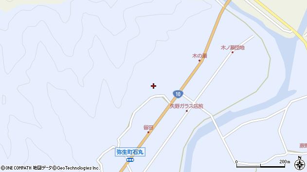 大分県佐伯市弥生大字井崎2016周辺の地図