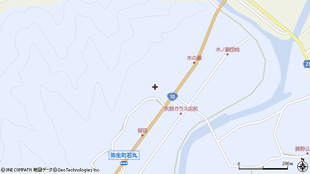 大分県佐伯市弥生大字井崎2000周辺の地図