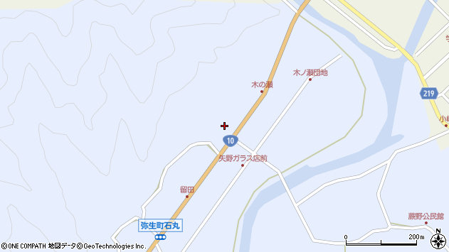 大分県佐伯市弥生大字井崎1927周辺の地図