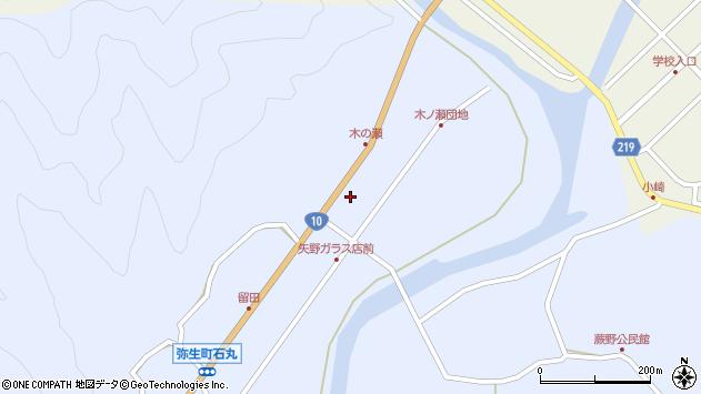大分県佐伯市弥生大字井崎1637周辺の地図