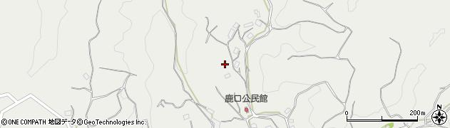 大分県竹田市会々鹿口周辺の地図